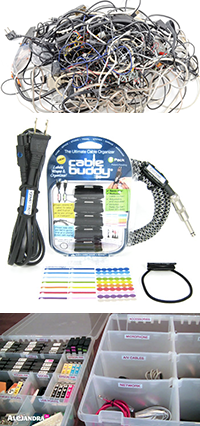 Cord and Cable Organizers